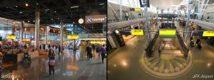 Non-places 2: bijna identieke luchthavens.